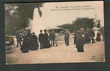 France unmailed post card Versailles Les Animaux Combattants/statue de Venus