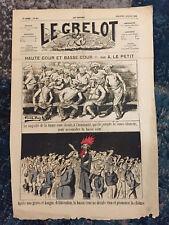 Le Grelot - Journal satirique du 2 juillet 1876 Albert le petit Basse et haute