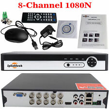 8 Channel DVR CCTV Security Video Recorder 1080N H.264 AHD HDMI Digital MOBILE