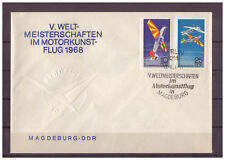 DDR, FDC WM im Motorkunstflug MiNr. 1391 - 1392 ESSt Berlin 13.08.1968