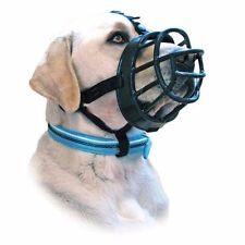 Baskerville Ultra acolchada ajustable tamaño de perros Bozales Negro cesta