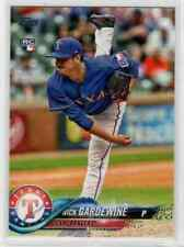 2018 Topps Update Nick Gardewine RC #US188 Texas Rangers