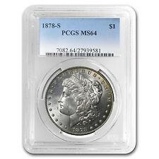 1878-S Morgan Dollar MS-64 PCGS - SKU #4518