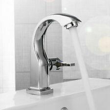Chrome Kitchen Bathroom Basin Cooper Tap Single Handle Spout Sink Bath Faucet