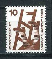 Berlin Rollenmarke Mi-Nr. 403 AR d - mit blauer Nummer ** postfrisch
