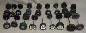 Lot Of Vintage Structo Tonka Etc Tires Wheels Axles Custom Parts