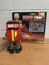 Radio Gobot Trans Am Transformer Playtime Robot 80s Vintage Untested