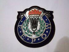 Bullion Blazer Badge, Far East Prisoner Of War, Excellent Condition. #T 43