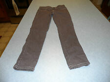 RVT girls size 10 gray jeans with button waist