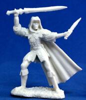 1 x DANAR ASSASSIN - BONES REAPER figurine miniature jdr pathfinder rpg 77030