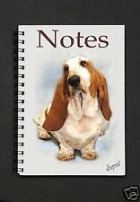 Basset Hound Notebook / Notepad By Starprint - Auto combined postage