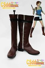 Resident Evil Jill Valentine cosplay boots shoes