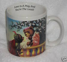 1989 Famous Couples Romeo Au And Julliette Bears Cup