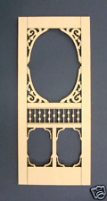 1:24 Scale Dollhouse Miniature screen door