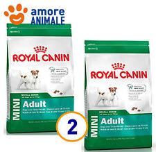 2 SACCHI -  Royal Canin Mini Adult Pollo 8 kg per cane adulto taglia piccola