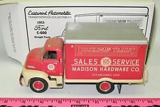 Eastwood Automobilia Transportation 1953 Ford C-600 Straight truck 1/34 scale