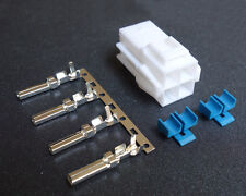 HF Radio Power Socket Plug 4 pin for ICOM IC-7600 IC-7000 IC-7200 KENWOOD YAESU