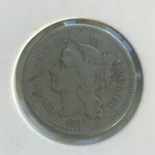 1867 Nickel 3 Cent Piece