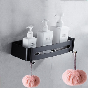 1 Layer Bath Shelf Wall Shelves Shower Organizer Storage Corner Rack Home Decor