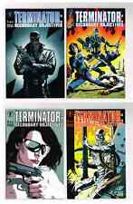 TERMINATOR SECONDARY OBJECTIVES #1-4 SIGNED! GULACY DH COMICS 1991 NM UNREAD