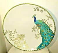 "222 Fifth Peacock Garden 13 3/4"" Large Pasta Serving Bowl"