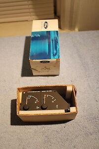 NOS 1991 92 MERCURY CAPRI OIL PRESSURE WATER TEMPERATURE GAUGE SET