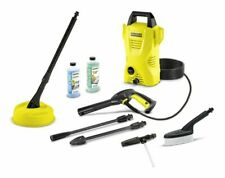 Karcher K2 Compact Home & Car 1400W Pressure Washer - Yellow