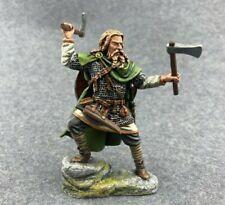 painted tin soldiers toy figures 54mm. viking berserk Vk-11