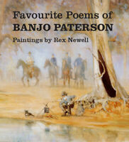 NEW: Favourite Poems of Banjo Paterson By Rex Newell (Hardback Book)