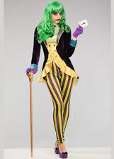Womens Deluxe The Joker Style Costume