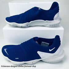 NIKE Free RN Flyknit 3.0 RUNNING DEEP ROYAL BLUE Trainers Sneakers RRP £115