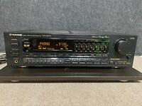 Pioneer VSX-3600 receiver, phono input, graphic eq **one channel gets scratchy**