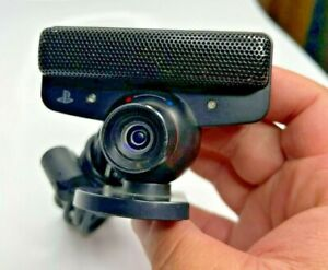 Sony SLEH-00448 PS3 Playstation Video Games Motion Eye Camera Micprohone Black