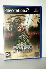 MAXIMO ARMY OF ZIN GIOCO USATO OTTIMO STATO SONY PS2 EDIZIONE ITALIANA FR1 37084