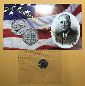 A39- 1996W ROOSEVELT DIME  IN MINT CELLO  AS RECEIVED FROM UNITED STATES MINT