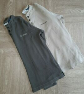Columbia Lot Of 2 Omni-Wick Long Sleeve Thermal Shirts Mens Size Small