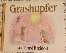 Ernst Kreidolf - Grashupfer - Waldorf - Bilderbuch gebunden