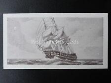 No.13 H.M.S. CANOPUS 84 GUN SHIP Old Ships 2nd Series - Dominion Tobacco 1935