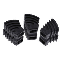 6 Pieces Drum Rubber Feet for Drum Hardware Cymbal Stand Small Size