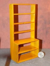 Dollhouse Miniature Shelf Walnut Store Shop 1:12 inch scale F43 Dollys Gallery