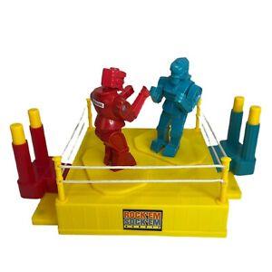 Rock'em Sock'em Robots 2014 Mattel Classic Boxing Toy Game Retro Blue Red Bomber