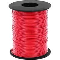 100 Meter Litze Rot 0,14mm² Kupferschaltlitze LIY Kabel auf Spule