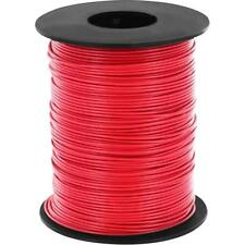 100 Meter Toron Rouge 0,14mm ² Fils de cuivre LiY Câble sur bobine