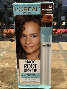 L'Oreal Magic Root Rescue 10 Minute Root Coloring Kit Permanent Med Golden Brown