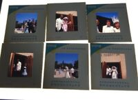 VTG LOT OF 29 35MM SLIDES 1960'S WEDDING AND RECEPTION BAY AREA
