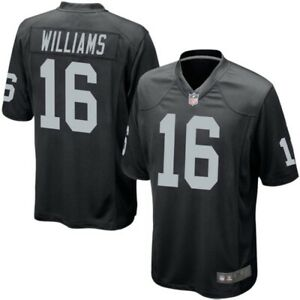 Las Vegas Raiders Nike Jersey Men's NFL Home Game Jersey - Tyrell Williams - New