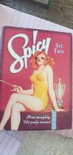 SPICY PIN UP GIRLS CARD DECK