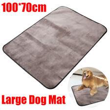 UEETEK Waterproof Pet Blanket Microplush Collapsible Pets Plush Mat for Dog Cat