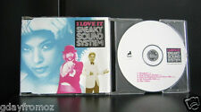 Sneaky Sound System - I Love It 5 Track CD Single Incl Video