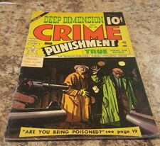 Crime and Punishment #68 (july 1954, Lev Gleason) FREE SHIPPING!